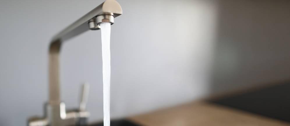 le caratteristiche dell'acqua del rubinetto